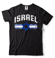 Israel T-shirt Israel heritage Flag Coat of Arms Tee shirt Israeli Tee