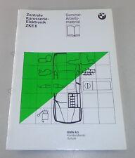 Formación bajo situación seminario bmw central carrocería electrónica Modulo II de 11/1989