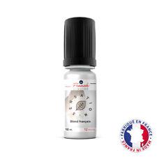 French Liquide Saveur Blond Français Taux Nicotine 12 mg pour Cigarette