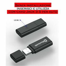 USB BLUETOOTH 5.0 RICEVITORE ADATTATORE AUDIO, TV PC Auto Aux Trasmettitore