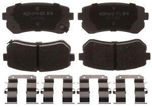 Disc Brake Pad Set-Ceramic Disc Brake Pad Rear ACDelco Advantage 14D1157CHF1
