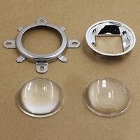 60/120 Lens 44mm Glass Lens+Reflector+Fixed Bracket For 20-100W LED Pack Supply