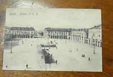 CARTOLINA CUNEO VITTORIO EMANUELE II VIAGGIATA 1908 SUBALPINA VVV