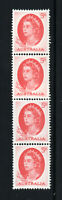 Australia - SG# 354ca / Coil Strip of (4) MNH / Paste Up  -    Lot 1220286