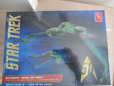 AMT Star Trek Klingon, Bird of Prey Plastic Model Kit New