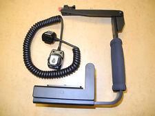 Camera Flip Flash Bracket Grip with Cord  for Nikon D5000 D5100 D7000