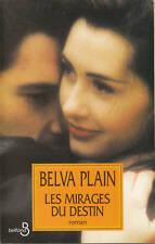 Livre les mirages du destin  Belva Plain book