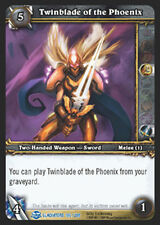WOW Warcraft TCG GLADIATOR'S : TWINBLADE OF PHOENIX X 4