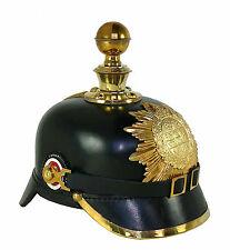 Pickelhaube Tschako Kaiserreich Artillerie Shako Mecklenburg Reenactment  L54K