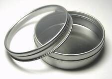 Blank Round Metal Clear Lid Tin For Survival Kits #6