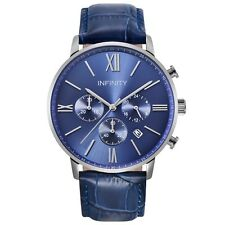 Infinity SP 05 All Blue Men's Classic Chronograph Watch - Blue Luxury Watch