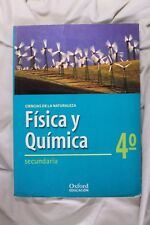 Livre Physique et Quimica 4º. secondaires. Oxford. 1998