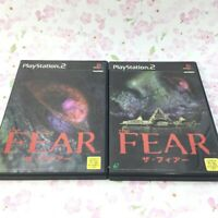USED PS2 PlayStation 2 The FEAR The Fear 03490 JAPAN IMPORT