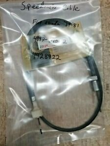 Fiat Strada Speedometer Cable 1979-1981 Part#: 4428922 Made In Italy