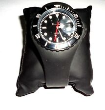 Toywatch Jelly Silicone Black Watch XLARGE SIZE (SMALL TEAR ON THE RUBBER)