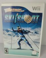 Ski and Shoot Nintendo Wii 2008 Complete