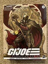 G.I. Joe Classified Snake Supreme Cobra Commander Hasbro Pulse New