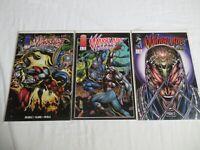 Image Comics Warblade: Endangered Species #1 #2 #3 (1995) Set Run Lot VF/NM