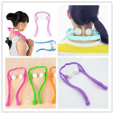 Neck Massager Therapeutic Trigger Point Self Massage Tool Tension Pain Relief