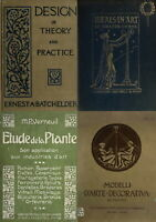 28 RARE OLD BOOKS ON ART NOUVEAU APPLIED DECORATIVE ARTS & GRAPHIC DESIGN ON DVD