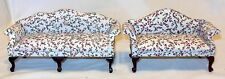 Queen Anne Living Room Dollhouse Furniture Miniatures