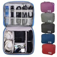 Electronic Accessories Cable USB Drive Organizer Bag Storage Holder Insert Case