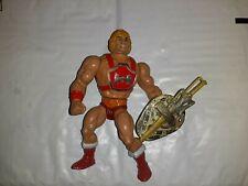 Vtg Thunder Punch HE-MAN With Chrome Shield & Sword 1984 Mattel MOTU Complete