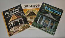 Lot Of 3 Home Improvement Book Building Gazebos Other Garden Structure Designs