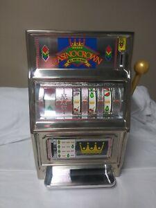 Vintage Waco Casino Crown Slot Machine