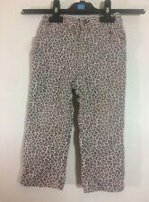pantalon jeans imprimé guépard léopard panthere Tissaia 2 ans be (C276)