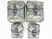 US Military ACU Gunners Pouch Set - 100 and 200 Round  - New in Pack - USA