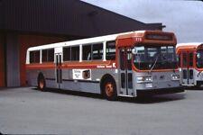 Kitchener Transit Flyer bus Kodachrome original Kodak slide