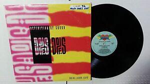 "DEFINITION OF SOUND - Moira Jane's Cafe 1992 ELECTRO HIP HOP Cardiac Records 12"""