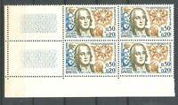 France Bloc de 4  n° 1374 Neuf  ★★ luxe / MNH  1963 BDF