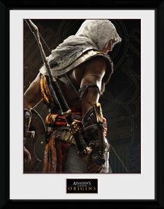 Assassins Creed Origins Synchronization Framed Collector Print Gaming 30x40cm