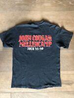 John Cougar Mellencamp Born In A Small Town 85-86 Tour T-Shirt M 38-40 ORIGINAL