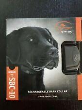 SportDOG NoBark SBC-10 Bark Control Collar - Black - New