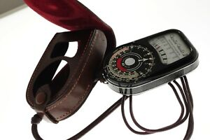 Weston Master III lightmeter S141-3 +pouch+cord. EXC+ cond. Working.