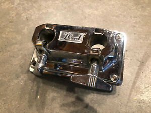Pearl Two Hole Bass Drum Bracket Mount MISSING ONE SCREW #WP2