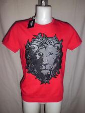Versace Versus T- Shirt Man Uomo cotone Lion Red Size L