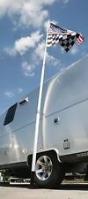 CAMCO 51600 Telescoping Flagpole with car foot