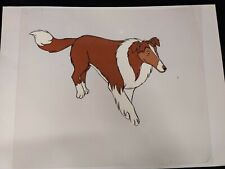 LASSIE ANIMATION CEL PRODUCTION ART Hand Painted