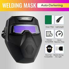 Solar Powered Welding Helmet With Detachable Autodarkening Goggles Li Battery