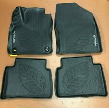 TOYOTA PRIUS 2018-2020 4 PCS BLACK ALL WEATHER FLOOR LINERS PT908-47190-20
