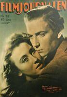 FILMJOUNALEN N.38 1946 GREGORY PECK INGRID BERGMAN