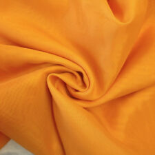 New Brilliant Yellow 100% Cotton Fabric Cambric Plain Solid ,Craft, Quilting