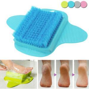 Bath Blossom Foot Scrub Brush Exfoliating Feet Scrubber Washer Spa for Shower