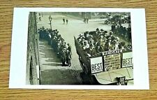 LONDON TRANSPORT POSTCARD ~ DAY OUT ON THE BUS TO REIGATE ~ PHOTOGRAPH ~ 1921