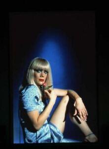Kathleen Turner Crimes of Passion in blonde wig Vintage Duplicate Transparency