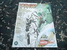 #9 DRAW comic book art magazine (UNREAD) - MIKE MANLEY